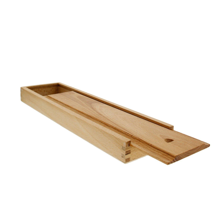 Art Supply Large 15 inch Wooden Brush Box U.S