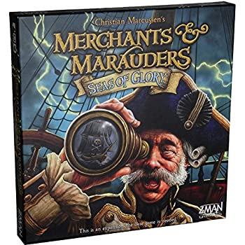 Seas of Glory Expansion Edition for Merchants and Marauders Board Game