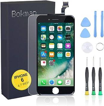 Bokman LCD Pantalla para iPhone 6, Táctil LCD Reemplazo con ...