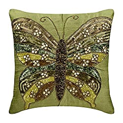 Silk Throw Pillows for Couch