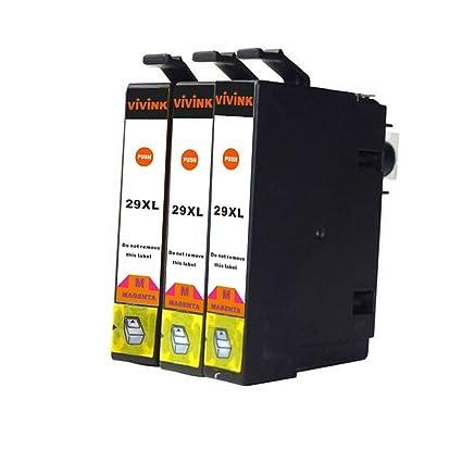 VIVINK - Cartuchos de Tinta remanufacturados para Epson 29XL T2993 ...