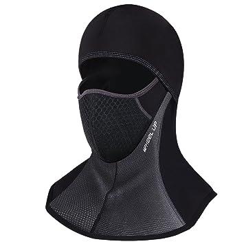 Pasamontañas Moto Negro Impermeable Esquí Ciclismo Snowboard Máscara facial de deportes al aire libre Calentar a