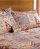Pendleton 100% Cotton Flannel Sheet Set Southwest Folk Tales (Twin)