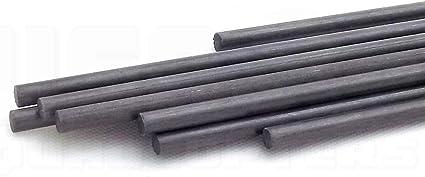 1mm Round Bar Fast Free Post Oz Model Build 2 by Carbon Fibre Solid Spar Rod/'s