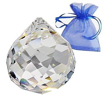 e8e50f8dec99 Swarovski Cristal Bola (Diámetro 40 mm retorcido en bolsa de regalo ...