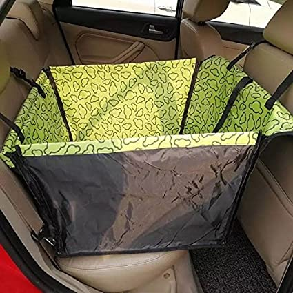 Dog Carriers Luxury Foldable Oxford Waterproof Pet Dog Car Single Seat Cover Pad Blanket Suv Cat Hammock Car Protector Puppy Kitten Products Pet Products