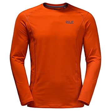 fecdf43b3ad55e Jack Wolfskin Men's Hollow Range Long Sleeve Top: Amazon.ca: Sports ...