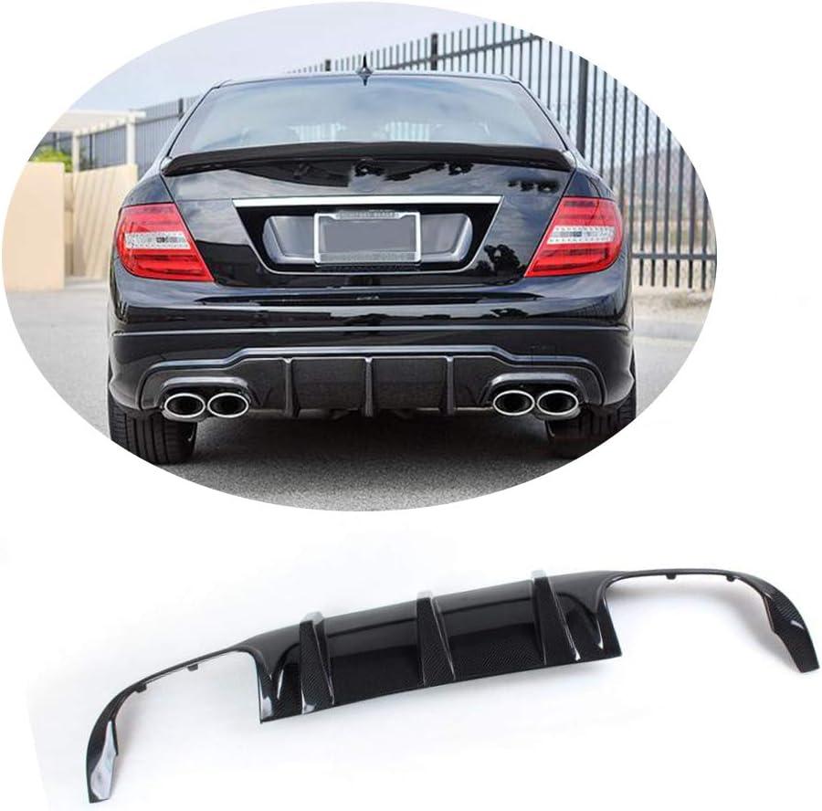 Stoßstange Hinten Diffusor Für Mercedes Benz W204 C63 Amg 12 14 Mcarcar Kit Facelift Carbon Shark Fin Guard Auto