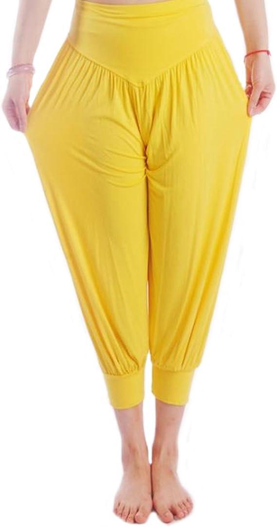 MEISHINE® Verano Mujer 7/10 Holgados Pantalones Deportivos ...