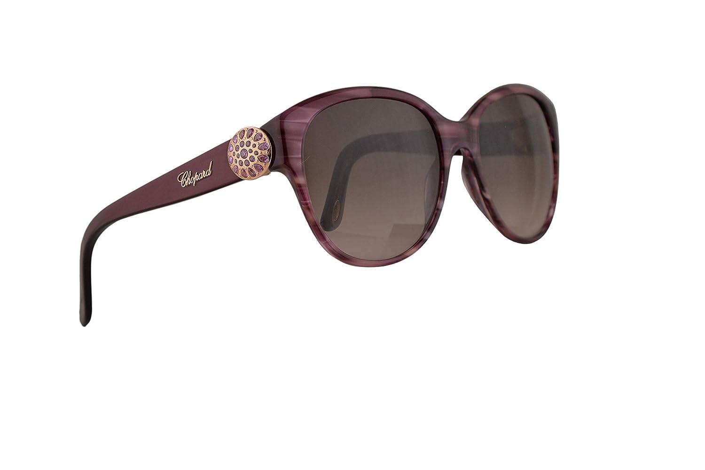 Amazon.com: Chopard SCH185S - Gafas de sol, diseño de rayas ...