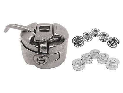 Spulenkapsel 2 Metall Spulen für Brother Nähmaschinen