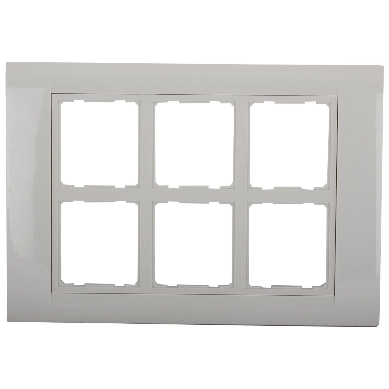 Anchor Polycarbonate Roma 12 Module Tresa Plate Standard Size White Amazon In Home Improvement