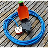 25 METER 1 WAY HEAVY DUTY ELECTRICAL GARDEN EXTENSION CABLE WITH WEATHERPROOF IP54 SOCKET by Hardware Warehouse Ltd