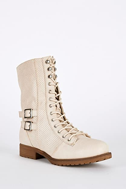 Love That Outfit - Botas para mujer, color Beige, talla 42: Amazon.es: Zapatos y complementos