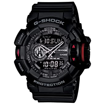 80e76c0892708 Buy Casio G-Shock Analog-Digital Black Dial Men s Watch - GA-400-1BDR  (G566) Online at Low Prices in India - Amazon.in