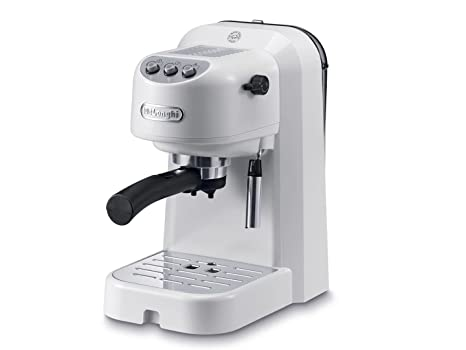 DeLonghi EC 251.W Independiente Máquina espresso Blanco 1 L Semi-automática - Cafetera