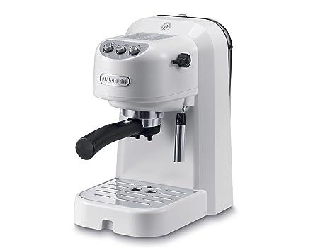 DeLonghi EC 251.W Independiente Máquina espresso Blanco 1 L Semi ...