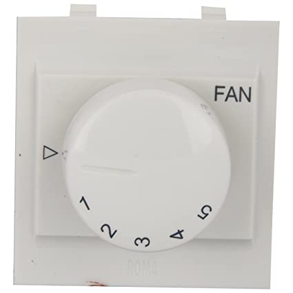 Anchor By Panasonic Roma [21496] Fan Step Regulator Dura Eme 100W White [Pack Of 1]