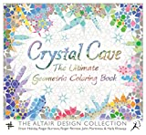 img - for Crystal Cave: The Ultimate Geometric Coloring Book (Wooden Books) book / textbook / text book