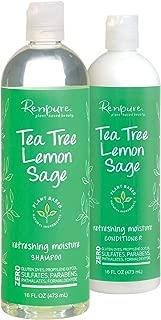 product image for Renpure - Tea Tree Lemon Sage Refreshing Moisture Shampoo and Conditioner - 16 fl oz Each