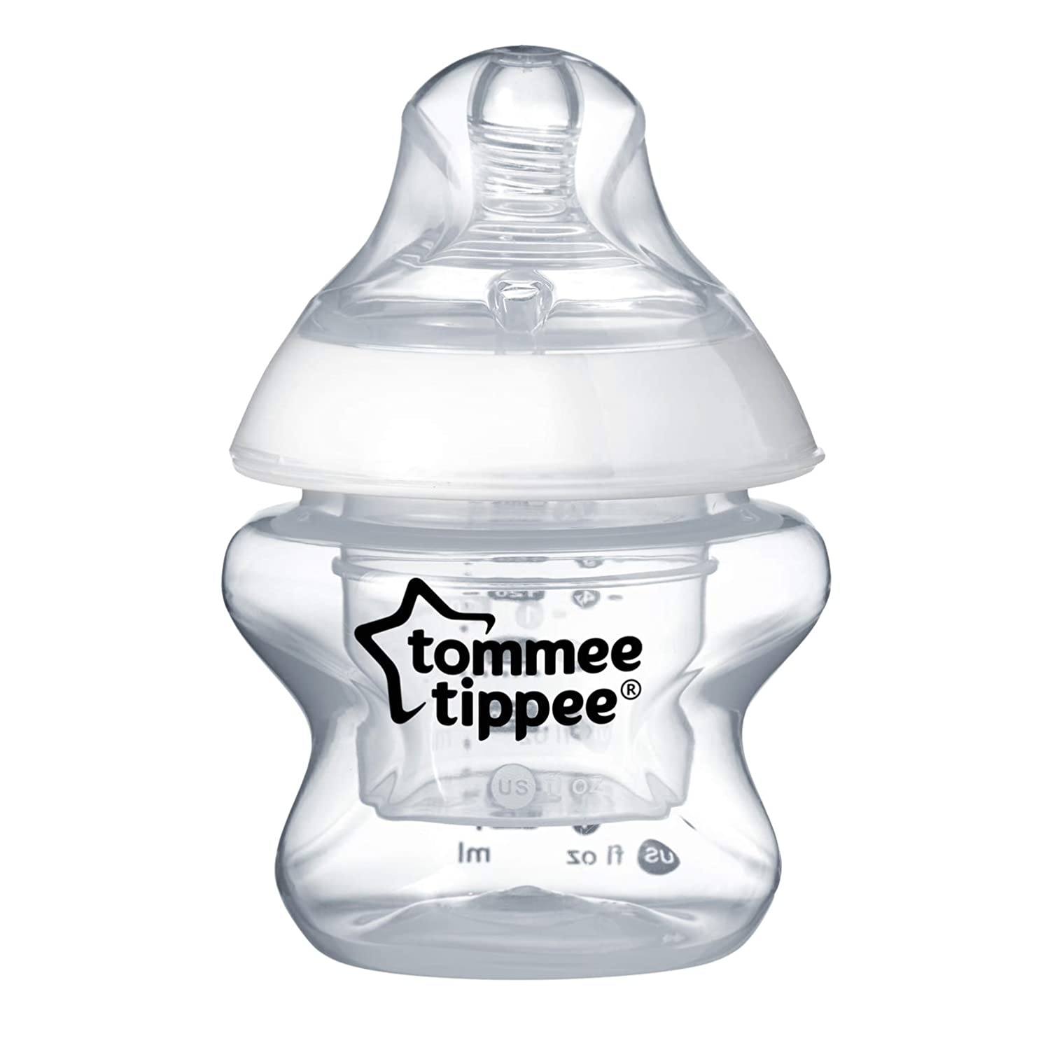 Tommee Tippee Closer To Nature First Feed Baby Bottle, Extra Slow Flow, 5 Ounce, 1 Count 52254010