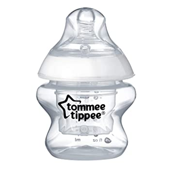 5 Ounce Extra Slow Flow 1 Count Tommee Tippee Closer To Nature First Feed Baby Bottle