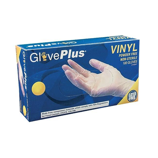 AMMEX - IVPF44100-BX - Vinyl Gloves - GlovePlu...