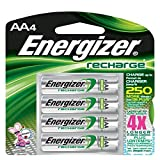 Energizer Recharge AA Batteries, 24/Pkg