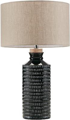Lite Source Ls 20073aqua Pepita Table Lamp Aqua Glass