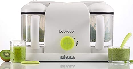 BÉABA - Babycook Duo, Robot de cocina 4 en 1, Néon: Amazon.es: Bebé