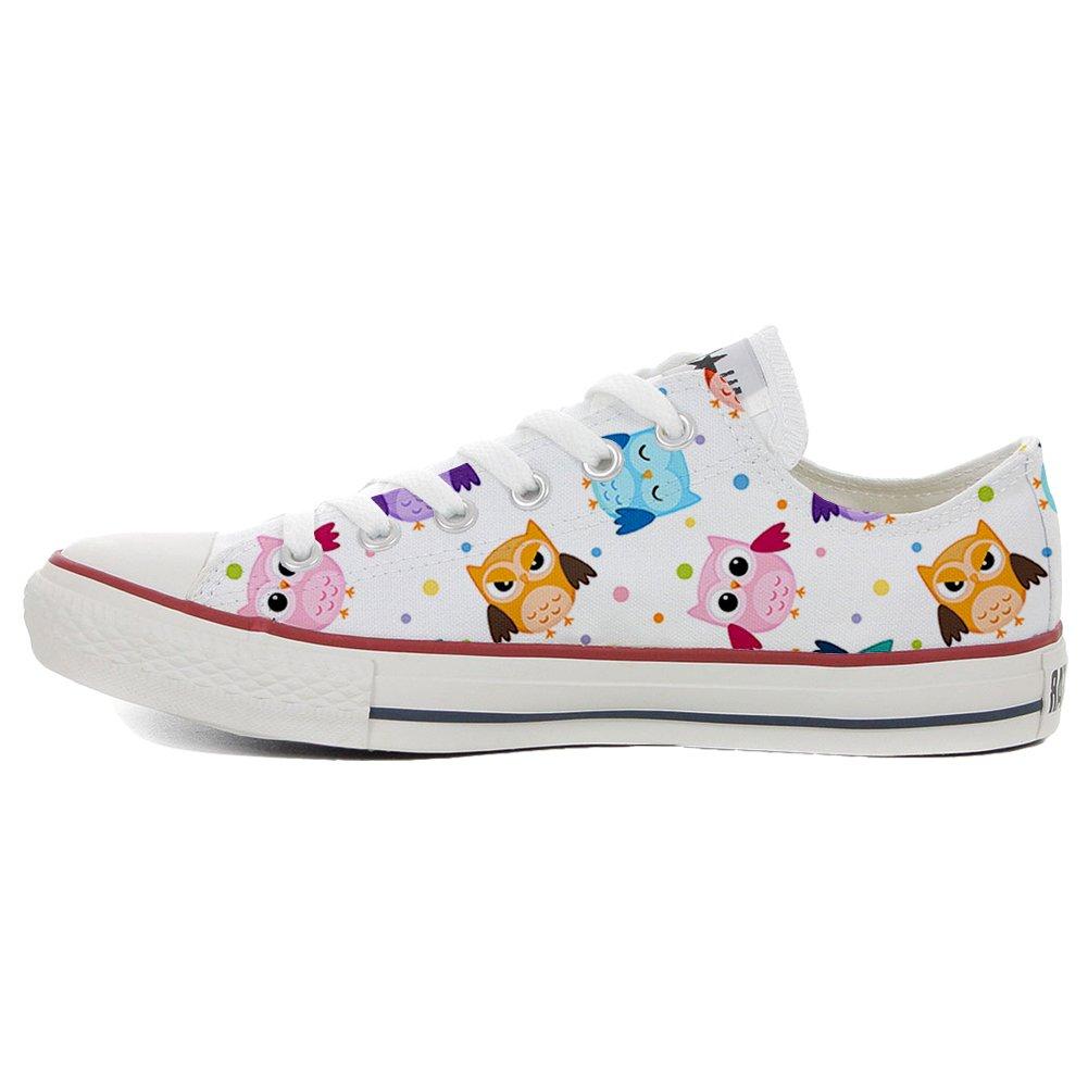 Converse All Star personalisierte Schuhe (Handwerk Produkt) Tiny Tiny Tiny Owls 4a23a0