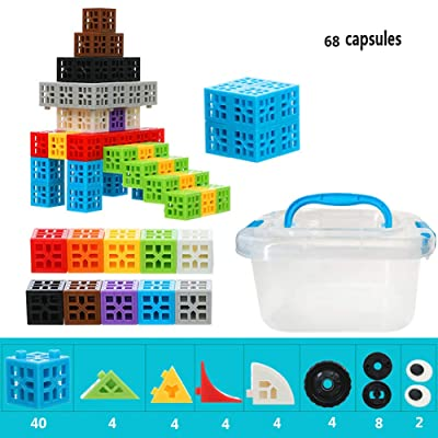 LYEC3 3D Six-Sided Children's Puzzle Assembling Building Blocks Construction Playboards, Creativity Beyond Imagination Inspirational Recreational Educational Conventional: Toys & Games