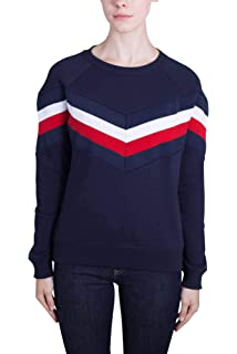 b7119f1a9d1 Tommy Hilfiger Women's Rejane C-nk SWTR Jumper: Amazon.co.uk: Clothing