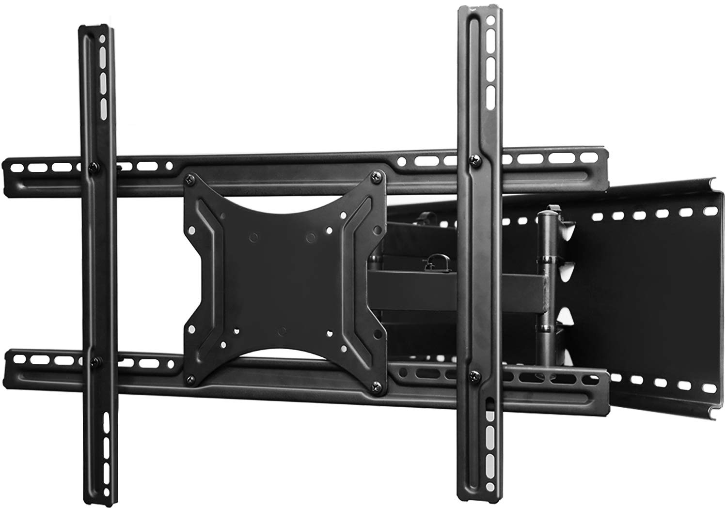 TV Wall Mount Bracket Full Motion- Fits 16'', 24'' Wood Studs Articulating Swivel TV Mount for 37-70 Inch LED, LCD, OLED, Flat Screen, Plasma TVs - Weight up to 132lbs - VESA 600x400mm PERLESMITH
