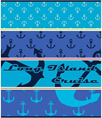 Secaneta Toalla de Playa 100% Algodón Egipcio Medida 150 x 175 cm, Azul, Modelo Island Cruise: Amazon.es: Hogar