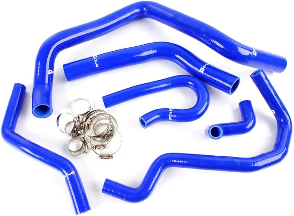 Silicone Radiator Coolant Hose Kit Clamps For HONDA CIVIC Type R EK EG B16A B18C EX SI KIT Blue