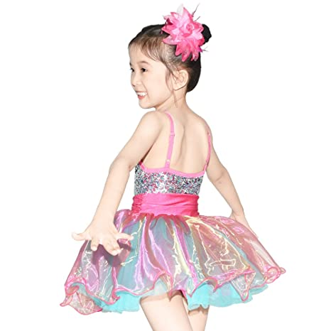 6511a64f2 Amazon.com  MiDee Dress Lyrical Dance Costume Ballet Leotard For ...