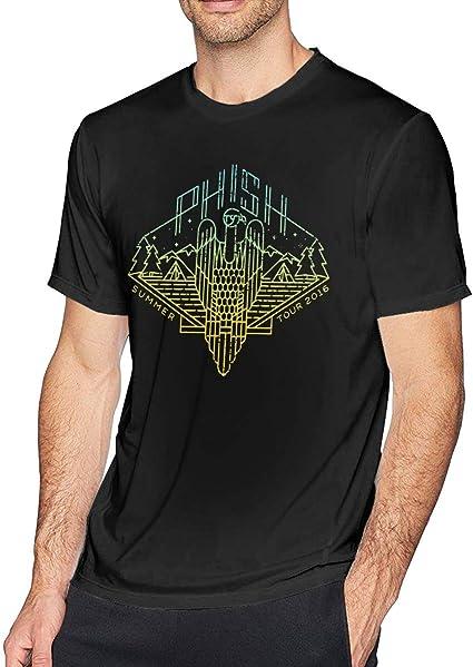 Patrick R Garrett T Shirt à Manches Courtes pour Hommes