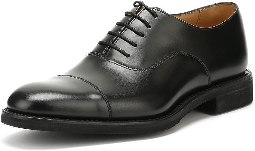 Loake Mens Black Orion Shoes: Amazon.co