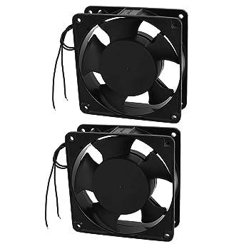 AC 220V 0.7A 5 Caso Cuchillas PC CPU refrigerador ventilador de ...