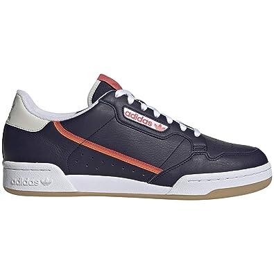 huge discount 1d27e 8d943 adidas Originals Men s Continental 80 Shoes Navy Red White 7.5 ...