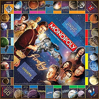 USAOPOLY Firefly Edition Monopoly Board Game: Game: Toys & Games