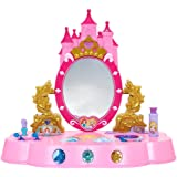 Amazon Com Disney Princess Sparkling Light Amp Sound Vanity