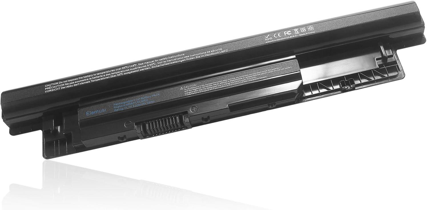 Elemusi Laptop Battery Mr90y for Dell Inspiron 15-3521 15-3531 15-3537 15-3542 15-3543 15r-5521 15r-5537 17-3721 17-3737 17r-5737 17r-5727 14r-5421 14r-3437 Latitude 3440 3540 312-1433