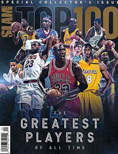 Issue Slam Magazine - Slam Presents Special Collector's Issue Top 100 The Greatest Players of All Time (2018 )