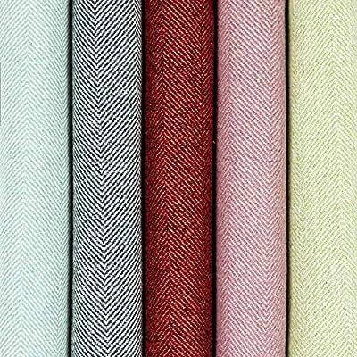 Designer Arr/êt de Porte Motif /à Chevrons pour La Maison Couleurs Bleu Ciel McAlister Textiles Herringbone But/ée Butoir de Porte en Laine Tweed