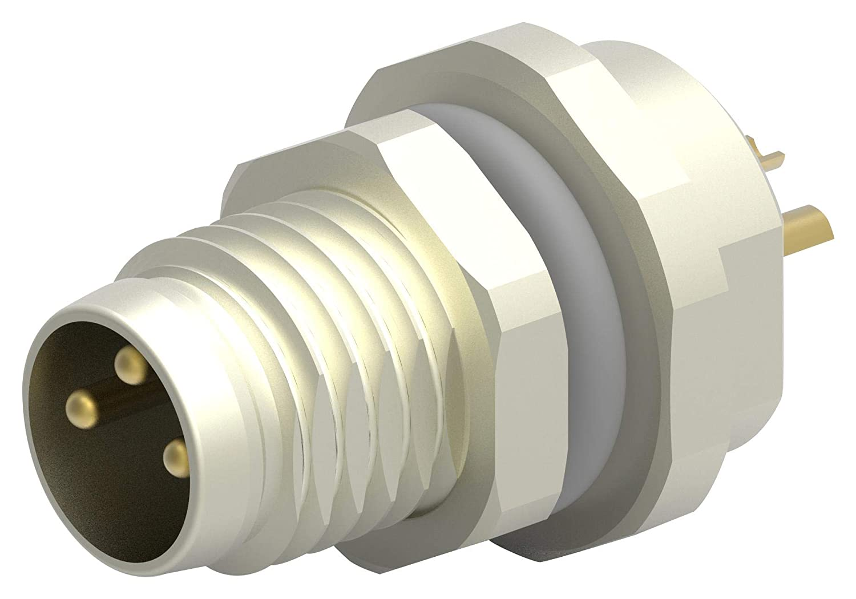TE CONNECTIVITY Panel Sensor Connector T4030014031-000 Plug M8 3POS