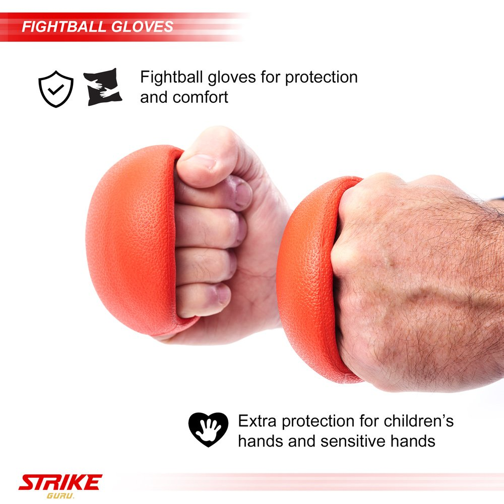 StrikeGuru Boxing Reflex Ball, Bonus Step by Step Video Training, Bonus Bonus E-Book, Perfect for Reaction, Agility, Punching Speed, Fight Skill and Hand Eye Coordination Training by StrikeGuru (Image #3)