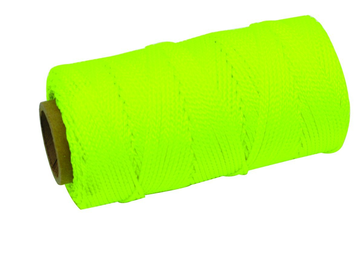 MARSHALLTOWN The Premier Line ML585 1000-Foot Size 18 6-Inch Core Twisted Nylon Mason's Line, Yellow