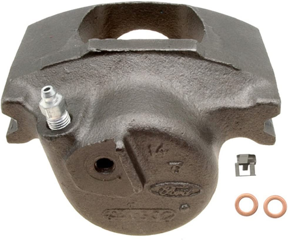 Disc Brake Caliper-Friction-Ready New Caliper with Bracket Front Right Raybestos